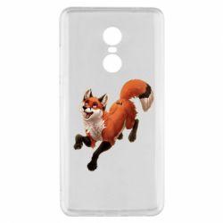 Чехол для Xiaomi Redmi Note 4x Fox in flight