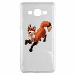 Чехол для Samsung A5 2015 Fox in flight