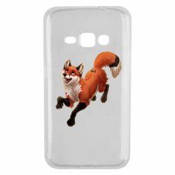 Чехол для Samsung J1 2016 Fox in flight