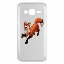 Чехол для Samsung J3 2016 Fox in flight