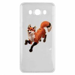 Чехол для Samsung J7 2016 Fox in flight