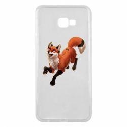 Чехол для Samsung J4 Plus 2018 Fox in flight