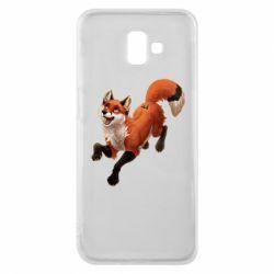 Чехол для Samsung J6 Plus 2018 Fox in flight