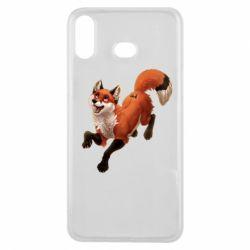 Чехол для Samsung A6s Fox in flight