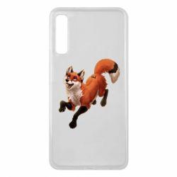 Чехол для Samsung A7 2018 Fox in flight