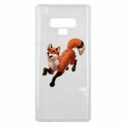 Чехол для Samsung Note 9 Fox in flight
