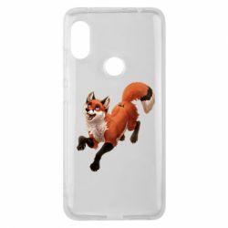 Чехол для Xiaomi Redmi Note 6 Pro Fox in flight