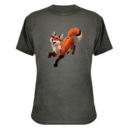 Камуфляжная футболка Fox in flight