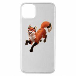 Чехол для iPhone 11 Pro Max Fox in flight