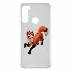 Чехол для Xiaomi Redmi Note 8 Fox in flight