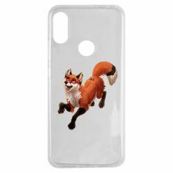 Чехол для Xiaomi Redmi Note 7 Fox in flight