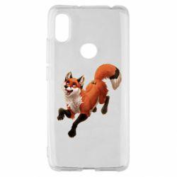 Чехол для Xiaomi Redmi S2 Fox in flight