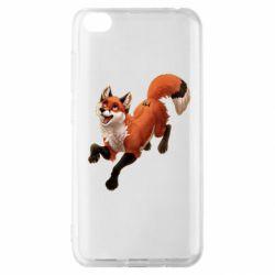 Чехол для Xiaomi Redmi Go Fox in flight