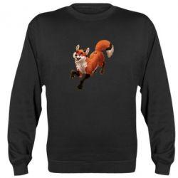 Реглан (свитшот) Fox in flight