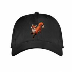 Детская кепка Fox in flight