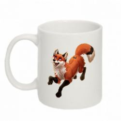 Кружка 320ml Fox in flight