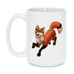 Кружка 420ml Fox in flight
