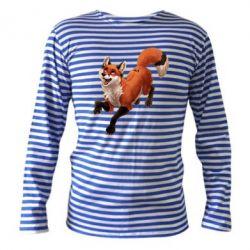 Тельняшка с длинным рукавом Fox in flight
