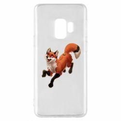 Чехол для Samsung S9 Fox in flight