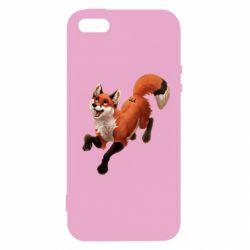 Чехол для iPhone5/5S/SE Fox in flight