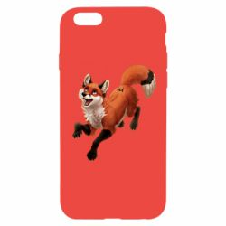 Чехол для iPhone 6/6S Fox in flight