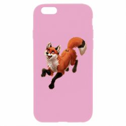 Чехол для iPhone 6 Plus/6S Plus Fox in flight