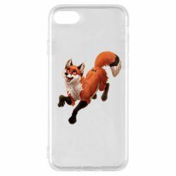 Чехол для iPhone 7 Fox in flight