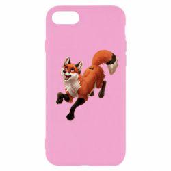 Чехол для iPhone 8 Fox in flight