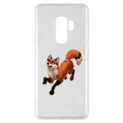 Чехол для Samsung S9+ Fox in flight