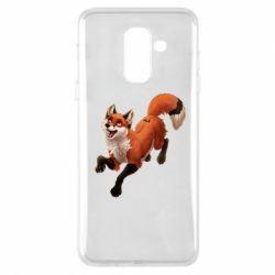 Чехол для Samsung A6+ 2018 Fox in flight