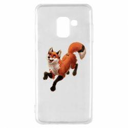 Чехол для Samsung A8 2018 Fox in flight