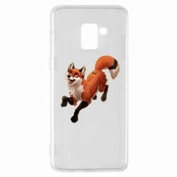 Чехол для Samsung A8+ 2018 Fox in flight