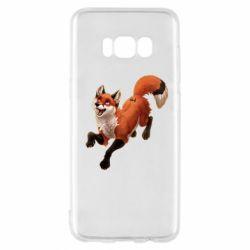 Чехол для Samsung S8 Fox in flight