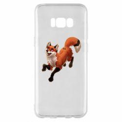 Чехол для Samsung S8+ Fox in flight