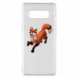 Чехол для Samsung Note 8 Fox in flight