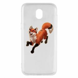 Чехол для Samsung J5 2017 Fox in flight