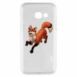 Чехол для Samsung A3 2017 Fox in flight