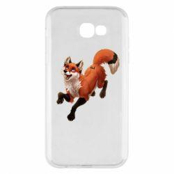 Чехол для Samsung A7 2017 Fox in flight