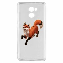 Чехол для Xiaomi Redmi 4 Fox in flight