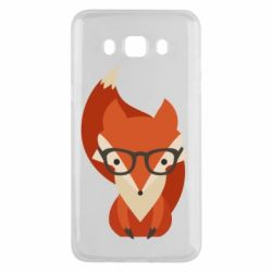 Чехол для Samsung J5 2016 Fox in glasses - FatLine