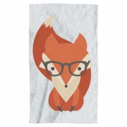 Полотенце Fox in glasses - FatLine