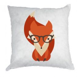 Подушка Fox in glasses - FatLine