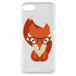 Чехол для iPhone 8 Fox in glasses - FatLine