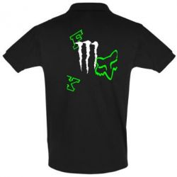 Футболка Поло Fox Monster Energy - FatLine