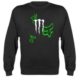 Реглан (свитшот) Fox Monster Energy - FatLine