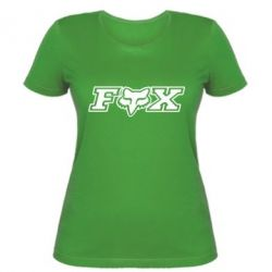 Женская футболка Fox Moto - FatLine