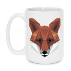 Кружка 420ml Fox Poly Art
