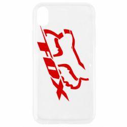 Чехол для iPhone XR FOX Racing
