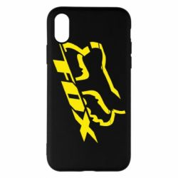Чехол для iPhone X/Xs FOX Racing