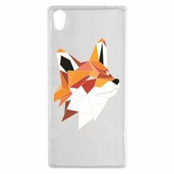 Купить Чехол для Sony Xperia Z5 Fox Triangular Art, FatLine